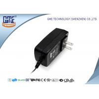 Wholesale Black US Style AC To DC Power Adapter , 3D Printer 12 Volt AC DC Adapter from china suppliers