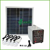Wholesale 70W Smart DC Portable Off Grid Solar Power Systems For Street Lamp / Camera from china suppliers