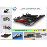 Quality 1070nm Carbon Steel / Silicon Steel Metal Laser Cutting Machine Water Cooling for sale