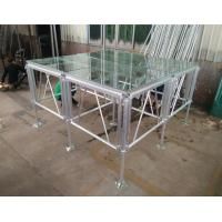 Wholesale 18mm Thinckess Aluminum Acrylic Portable Stage Platforms with Truss System and Tent from china suppliers