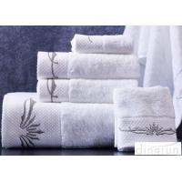 Wholesale Super Soft 32s Woven White Hand Towels Set OEM / ODM Available from china suppliers