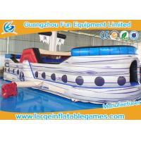 Wholesale Toddler Funny Pirate Inflatable Obstacle Course Equipment Portable Toy from china suppliers