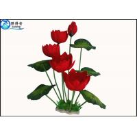 Wholesale Colorful Flower Plastic Simulation Artificial Plants For Aquarium Tank Decoration from china suppliers