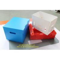 China water proof Polypropylene Corrugated plastic box customized made for fruit an vegetable packing for sale