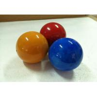 Wholesale Decorative Solid Wood Balls 60 mm Nature Painted Wooden Balls from china suppliers