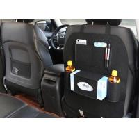 Wholesale Custom Size Car Back Seat Storage Bag , Felt Car Seat Hanging Storage from china suppliers