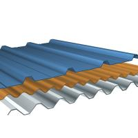 Wholesale Custom Pre-engineered Prefabricated Industrial PBR Metal Roofing Sheets System from china suppliers