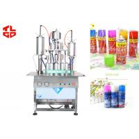 Wholesale Semi Automatic Aerosol Filling Machine / Equipments For Party Snow Spray , Party Strings from china suppliers