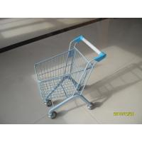 Wholesale 20 Liter Zinc Plated Kids Metal Grocery Shopping Cart CE / GS / Rosh from china suppliers