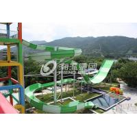 Wholesale Giant Water Park Equipment Exciting Swwiming Pool Fiberglass Water Slides For Adults in Themed Water Park from china suppliers