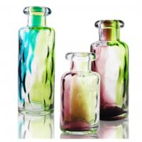 Buy cheap Handcrafted Colored Decorative Glass Bottle for Interior Decoration from wholesalers