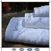 Wholesale 16S Single Loop Hotel Bath Towels With Jacquard / Emboidery Logo from china suppliers