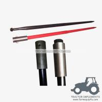 Wholesale Skid Steer Hay Bale Spear with Hex Nut and Sleeve from china suppliers
