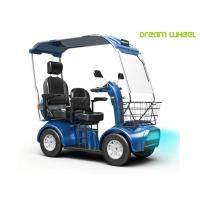 Wholesale Handicapped Electric Mobility Scooter 48V 20Ah Double Seats 130Kgs Steel from china suppliers