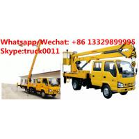 Wholesale Japan brand ISUZU 12M,14M,16M aerial working platform truck for sale, HOT SALE! best price ISUZU overhead working truck from china suppliers