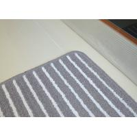 Wholesale Grey Non-Skid Rectangular Printed Floor Mats , Recycled cotton Kitchen Mats from china suppliers