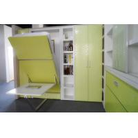 Wholesale Vertical Space Saving Murphy Bed  Light Yellow with Dinning Table 6 Patents from china suppliers