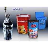 Wholesale Custom Cardboard Recycling Bins for Toys CDU and FSDU Cardboard Displays from china suppliers