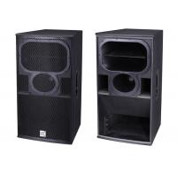 Wholesale Pa Horn Speaker Professional Audio System Singe 15''  Three Way Full Range from china suppliers