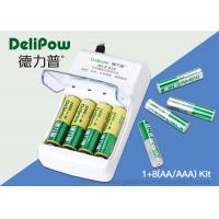 Wholesale 1.2V Portable 8 1000mAh Rechargeable Aaa Batteries With Charger from china suppliers