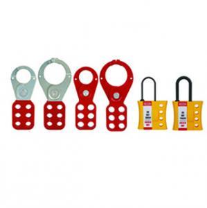 Quality Lockey -Lockout Tagout Manufacturer safety lockout padlock CE certificate  Brady Master key padlock Red for sale