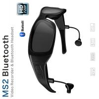 Wholesale Waterproof Bluetooth Spy Gadgets Spy Cam Glasses With Max 32gb Card / Polarized Lens from china suppliers