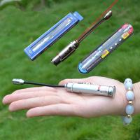 Wholesale AG13 Battery Soft Spring Tube Night Fishing Lures Lamp/Bait Light and Red Laser Pointers from china suppliers