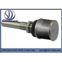 Wholesale Long-necked Filter Nozzle With V shape Profile Wire Screen Element from china suppliers