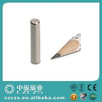 Wholesale High Performance Cylinder NdFeB Magnet / Permanent Magnetic Rod from china suppliers