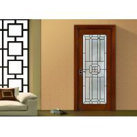 Wholesale fireproof Bevel Clear Sliding French Patio Doors , Safety French Glass Sliding Patio Doors from china suppliers