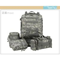 Wholesale High Grade Nylon Tactical Gear Backpack Customized Molle Assault Pack from china suppliers
