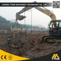 Wholesale Safer High Efficiency Concrete Pile Machine , Round Pile Cutter Low Noise from china suppliers