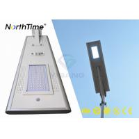 Quality Phone APP Control Smart Solar Powered LED Street Lights for Outdoor Lighting Project for sale