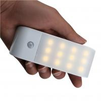 Buy cheap Wireless Infrared Wall LED Night Light, USB Rechargeable Motion Sensor Light from wholesalers