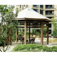 Quality WPC DIY gazebo kits OLDA-6008 size:6m*6m*4.8m (20ft.*20ft.*16ft.). for sale