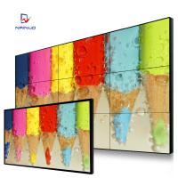 Wholesale 46 inch orignal AUO panel HD Video Wall indoor media display LCD 5.5mm splicing screen from china suppliers