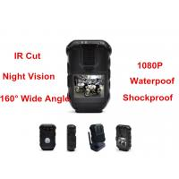 Wholesale Waterproof 1080P Police Body Mounted Cameras With IR GPS Police DVR 16MP from china suppliers