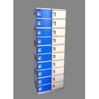 Wholesale 10 Tier Beige / Yellow Charging Station Lockers 2 Layer Cell Phone Charging Lockers from china suppliers