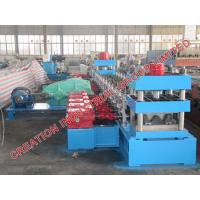 Wholesale Speedway Guard Rail Sheet Metal Roll Former Roll Forming Line With Mitsubishi PLC Control from china suppliers