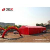 Heavy Duty Marquee PVC Wedding Tent Clearspan Structures With Colourful Cover