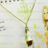Wholesale Ladies′zinc Alloy Necklace with Rhinestone from china suppliers