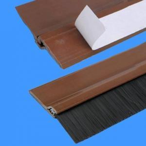 Wholesale Plastic Door Brush Seal, PVC Door Sweep,   Brush Holder from china suppliers