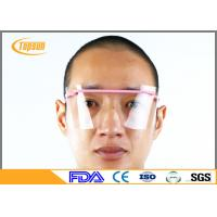 Wholesale Anti Fog Disposable Face Shield / medical Goggle PET Material For Labs / Industries Grinding from china suppliers