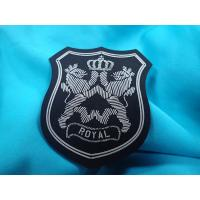 Wholesale Sportswear Clothing Labels With Custom Printing 3D Raised Logo Matt Effect from china suppliers