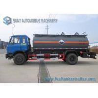 Buy cheap 10000 L Caustic Soda Chemical Liquid Tanker Truck 4x2 Dongfeng from wholesalers