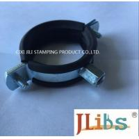 Quality M8 M10 20mm Width combi nut clamp with EPDM rubber Cast Iron Pipe Clamp for sale