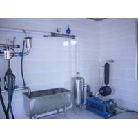 Wholesale Pipeline Cow / Goat Milking Parlor With A Milk Transport Conduit from china suppliers