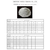 Wholesale Light burned magnesium oxide powder from china suppliers