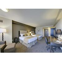 Contemporary Hotel Bedroom Furniture Environmental Friendly Material