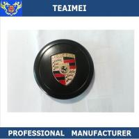 Wholesale 80mm Car Brand Logo Porsche Metal Center Wheel Caps Cover Black from china suppliers
